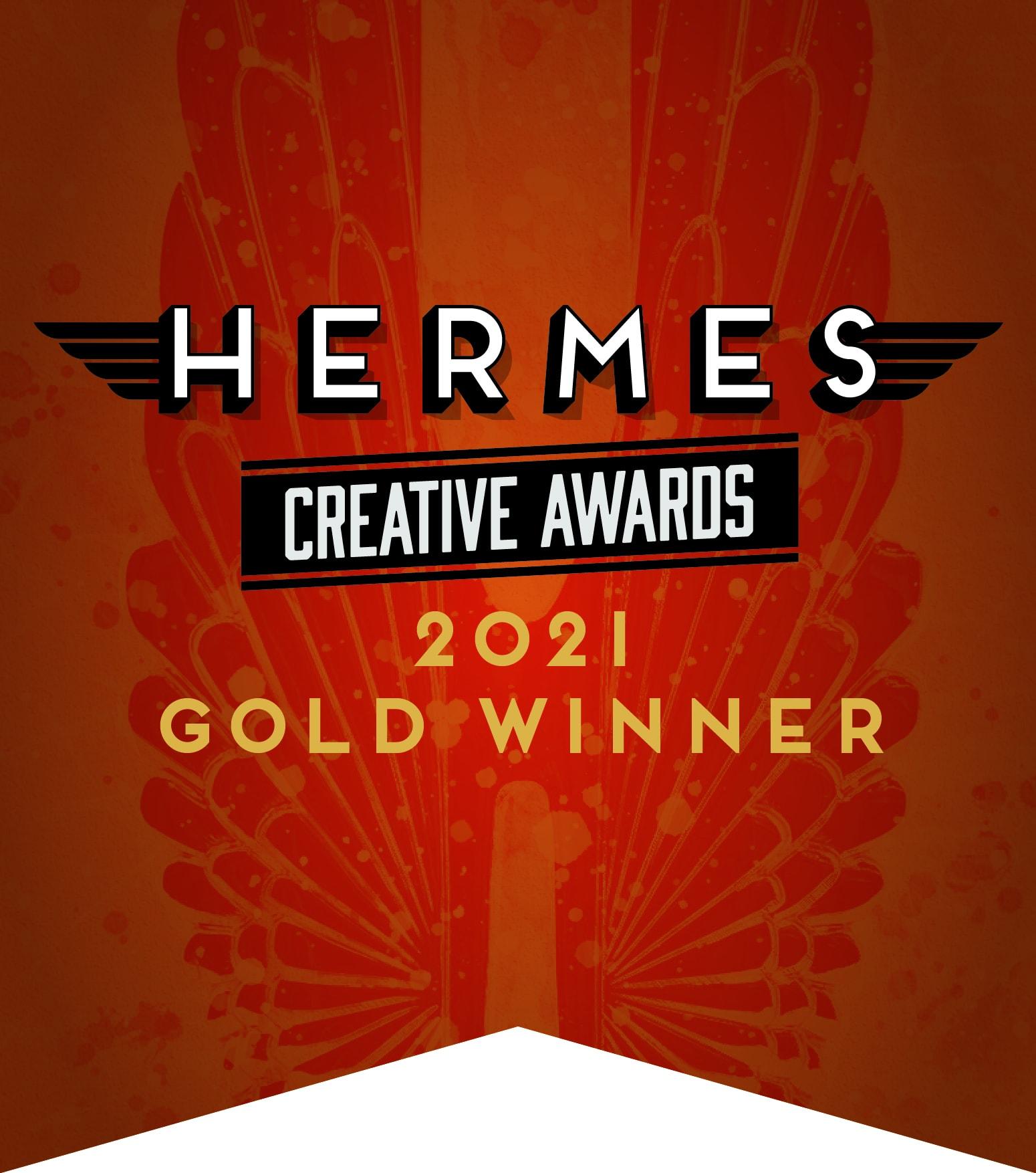 NameStormers Takes Gold in Hermes 2021 Creative Awards!