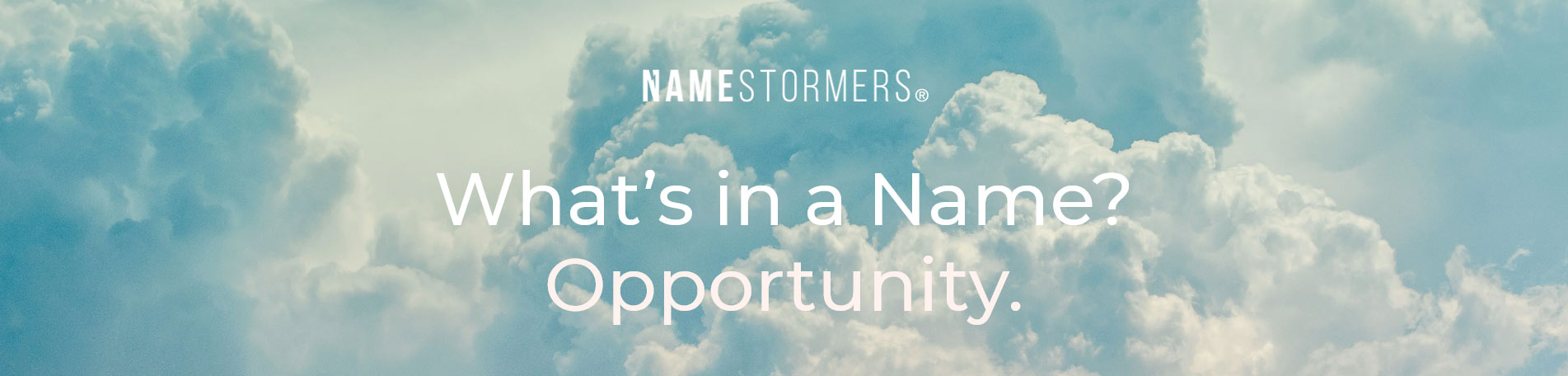 What's in a Name? Opportunity