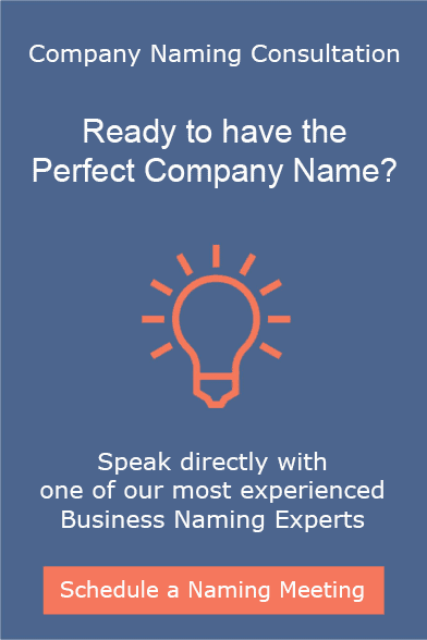 Speak with our Company Naming Consultants